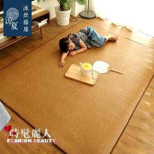 地毯/地墊 夏季日式藤編地墊地毯客廳臥室寶寶涼席兒童加厚藤席 全店88折特惠