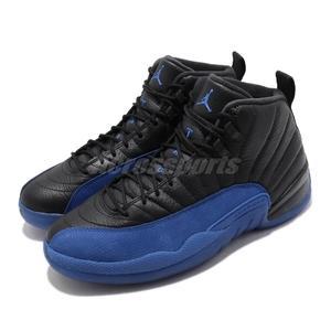 Nike Air Jordan 12 Retro Game Royal 黑 藍 男鞋 喬丹 12代 運動鞋【PUMP306】 130690-014