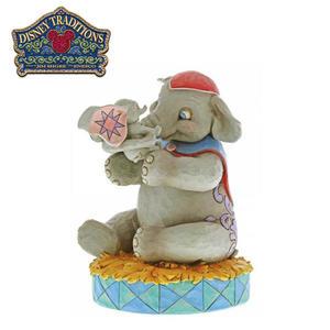 【正版授權】Enesco 小飛象 母親節 塑像 公仔 精品雕塑 Dumbo 迪士尼 Disney - 956079