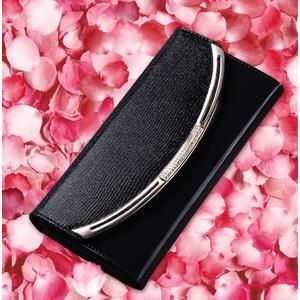 牛皮女士長款錢包手拿包 歐美亮光漆皮女式錢夾皮夾- xia0023