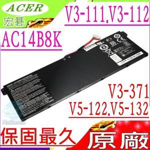 ACER 電池(原廠)-AC14B8K, V3-371, V3-372,V3-371-51QJ, V3-372T,V3-371-53LR, V3-371-547H, V3-371-565E,P236-M