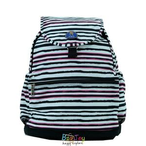 Roland 多口袋設計大容量 後背包 媽媽包 Dora II 斑馬粉