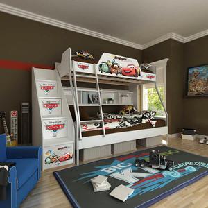 [首雅傢俬] MIT 迪士尼 雙人 上下舖 麥坤 高低床 雙層床 兒童床 書櫃床 上下床