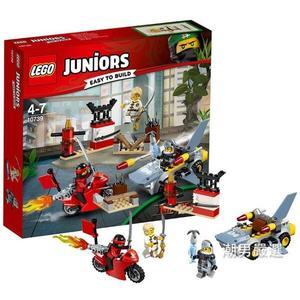 樂高積木樂高小拼砌師系列10739忍者大戰鯊魚戰士LEGO積木玩具xw