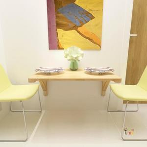 壁掛桌 實木摺疊桌掛牆桌餐桌靠牆電腦桌學習桌壁掛桌牆壁書桌掛桌可摺疊T