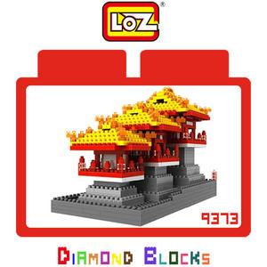 LOZ 迷你鑽石小積木 中國 大明宮 世界建築 樂高式 組合玩具 益智玩具 原廠正版