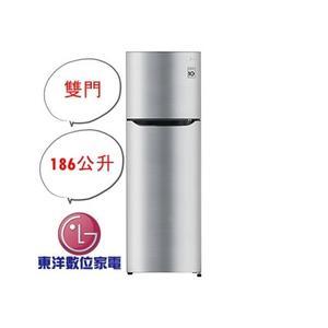含運+安裝 LG Smart 變頻上下門冰箱/ 精緻銀 GN-I235DS
