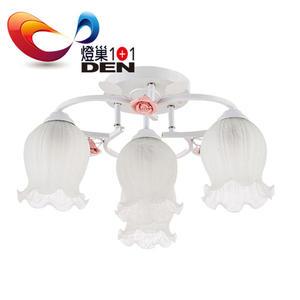 維多利亞環形玫瑰3+1燈半吸頂燈【  燈巢1+1 】 燈具。Led居家照明。桌立燈。 工廠直營批發 03095782