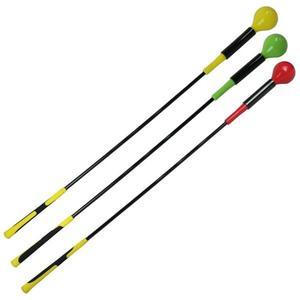 高爾夫揮桿練習器 大頭棒球桿室內熱身輔助訓練器運動用品揮桿棒   初見居家