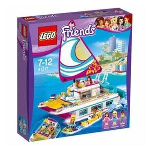 LEGO 樂高 Friends Sunshine Catamaran 41317 (603 Piece)