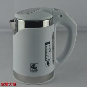 家電大師 CookPot鍋寶 1公升滑蓋式隔熱不銹鋼快煮壺 KT-100-D 【全新 保固一年】