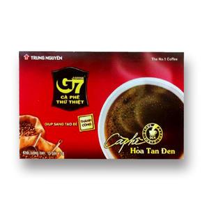 【台灣尚讚愛購購】越南G7即溶純黑咖啡2gX15入