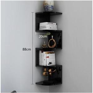 簡約客廳墻上置物架臥室隔板整理架墻壁收納架壁掛擱板書架CD架LX 全館免運