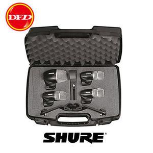 SHURE麥克風 SHURE PGDMK4-XLR 鼓專用麥克風四入組 (爵士鼓) 附專屬收納箱 公司貨