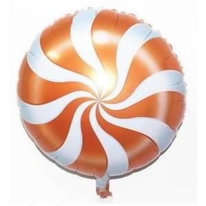 橘色棒棒糖氣球(未充氣)~~求婚道具/婚禮 生日 耶誕節 尾牙佈置