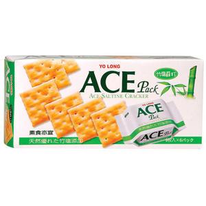 優龍ACE竹鹽蘇打餅149g【愛買】