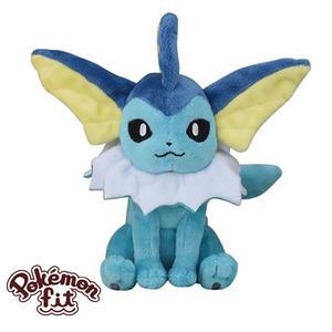 水伊布 水精靈 絨毛玩偶 娃娃 Pokemon Fit 寶可夢 神奇寶貝 日本正品 該該貝比日本精品 ☆