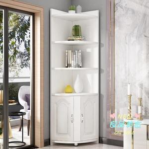 邊角櫃 角櫃現代簡約客廳三角置物架多功能轉角墻角櫃儲物櫃拐角邊角櫃T 3色