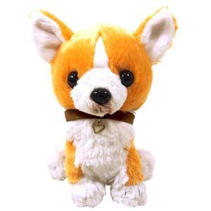 日本PUPS可愛玩偶 柯基犬仿真 小狗 絨毛娃娃公仔毛絨玩具狗禮物狗雜貨生日禮物小孩聖誕節送禮