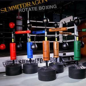 SUMMITDRAGON超纖拳擊反應靶反應器訓練器材躲閃旋轉速度球棍靶 完美情人YXS