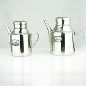 18安實用油壺 不鏽鋼材質 長嘴油壺 帶孔蓋 方便