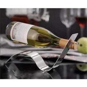 不銹鋼紅酒架創意酒架紅酒架子歐式葡萄酒架架【3C玩家】