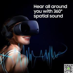 VR眼鏡 三星 HMD Odyssey MR虛擬現實游戲頭戴頭盔 美國 JD下標免運