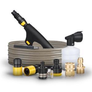 洗車機配件對接頭高壓水管銅接頭泡沫壺清洗機專用出水快接短槍 易家樂