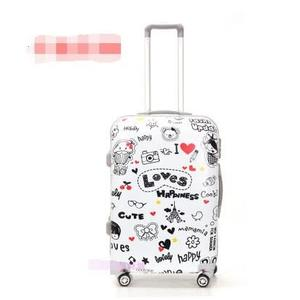 塗鴉行李箱  可愛拉桿箱 韓國塗鴉 拉桿行李箱可愛箱包  萬向輪  20吋 特價【藍星居家】