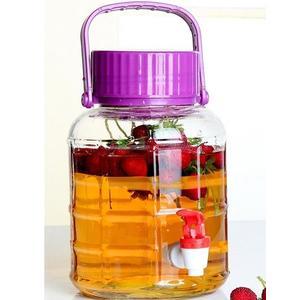 愛樂優無鉛玻璃泡酒瓶帶龍頭酵素密封罐藥酒泡菜壇子釀葡萄酒瓶子gogo購