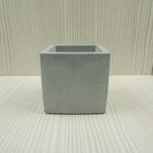 (BEAGLE) 正方型創意水泥盆栽 多肉水泥花器/仙人掌水泥花盆/水泥植栽/水泥盆器