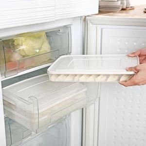 餃子盒多層凍餃子速凍水餃餛飩盒冷凍混沌盒餃子托盤冰箱保鮮收納   創想數位