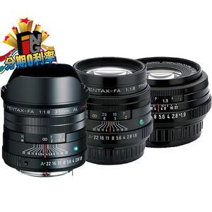 【24期0利率】PENTAX 三公主 黑色鏡頭組 DA 31mm f1.8 + 43mm f1.9 + 77mm f1.8 富堃公司貨