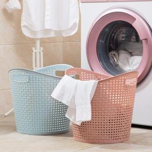 大號塑膠臟衣籃浴室洗衣籃客廳玩具衣物收納籃臟衣服收納筐
