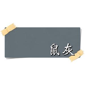 【漆寶】虹牌油性水泥漆 638鼠灰 (1加侖裝)