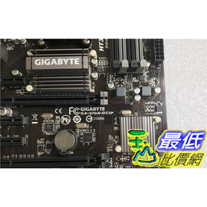 [106玉山最低網 裸裝二手] Gigabyte/技嘉970A-DS3P AM3 AM3+ 推土機 四核 八核主機板 USB3.0