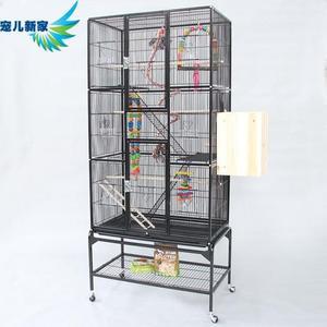 超大大型鸚鵡籠 群鳥籠 繁殖籠 小太陽灰鸚鵡 金屬大號 歐亞時尚