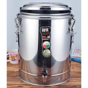 商用保溫桶不銹鋼水桶大容量湯桶雙層保溫奶茶桶豆漿桶飯桶涼茶桶