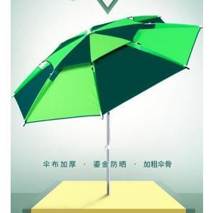古山釣魚傘2.2米萬向防雨大釣傘折疊遮陽防曬戶外雨傘加厚漁具 錢夫人小鋪