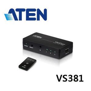 ATEN VS381 3埠HDMI 影音切換器
