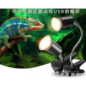 烏龜曬背燈uva uvb全光譜太陽加熱燈泡加溫保溫補鈣殺菌套裝迷你 WD  薔薇時尚