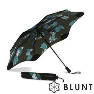【BLUNT 紐西蘭】XS_METRO blunt+Karen Walker 限量版 『絢麗鳥印花』圖騰 抗UV折傘 BL-TX02-MN