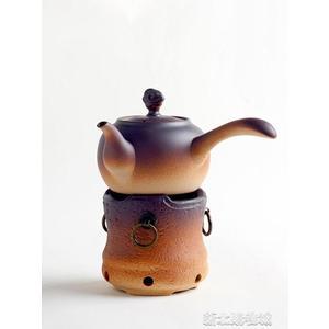 家用戶外野外酒精燈陶瓷煮茶器煮酒爐燒水壺陶壺小溫茶爐茶壺底座  【快速出貨】
