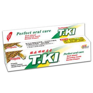 T.KI鐵齒 蜂膠牙膏 144g 【媽媽藥妝】