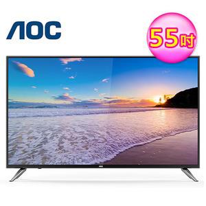 【AOC】55吋 4K UHD 智慧聯網淨藍光液晶顯示器 LE55U7570