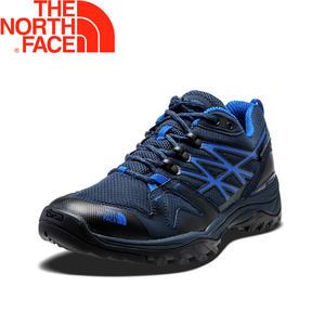 【The North Face 美國 男款 GTX 低筒健行鞋/深藍】31SB/防水透氣/耐磨登山鞋/越野鞋/健行鞋★滿額送