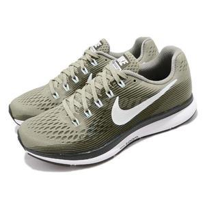22d266a65 Nike 慢跑鞋Wmns Air Zoom Pegasus 34 綠灰輕量緩震氣墊女
