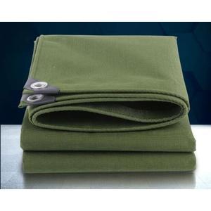 【居家優品】加厚帆布油布防雨汽貨車防水布防曬加厚篷布綠色遮陽蓬布雨棚罩子
