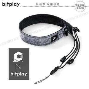 《飛翔無線3C》bitplay x Hanchor 聯名款 兩用掛繩│公司貨│適用 SNAP相機殼│頸掛背帶 手腕帶