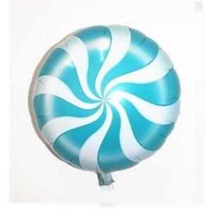 藍色棒棒糖氣球(未充氣)~~求婚道具/婚禮 生日 耶誕節 尾牙佈置